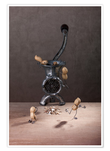 Premium poster Simple Things - Meat Grinder