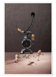 Premium poster  Simple Things - Meat Grinder - Nailia Schwarz