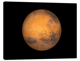 Canvas  Planet Mars - Walter Myers