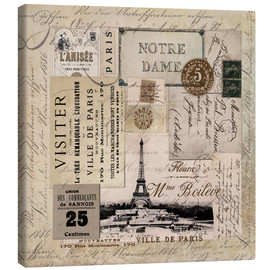 Canvas  Vintage Paris - Andrea Haase