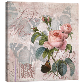 Canvas  La vie en rose - Andrea Haase