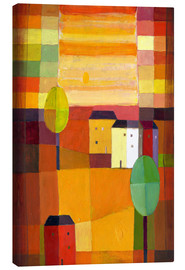 Canvas print  Autumn Sun I - Eugen Stross