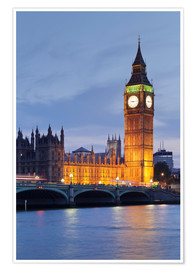 Poster  Big Ben, London - Markus Lange