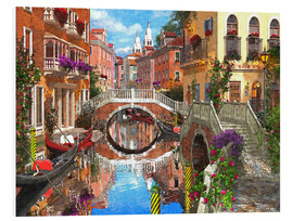 Foam board print  Venetian Waterway - Dominic Davison