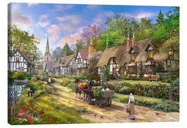 Canvas print  Peasent Village Life - Dominic Davison