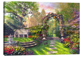 Canvas print  The gate to the lost garden - Dominic Davison
