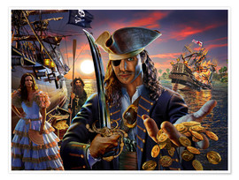 Premium poster The pirate