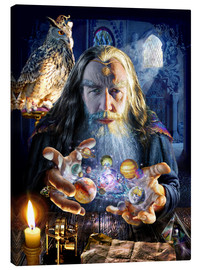 Canvas print  The wizard's world - Adrian Chesterman