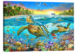 Canvas print  Turtle Cove - Adrian Chesterman