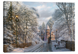 Canvas print  Christmas invitation - Dominic Davison