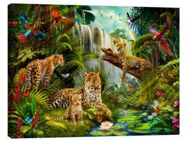 Canvas print  Leopards - Jan Patrik Krasny