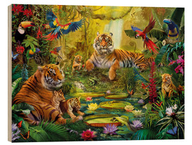 Jan Patrik Krasny - Tiger Family in the Jungle