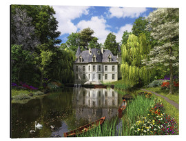 Aluminium print  River Mansion - Dominic Davison