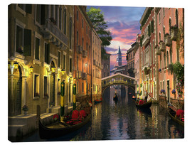 Canvas  Venice at dusk - Dominic Davison