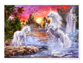 Jan Patrik Krasny - Unicorn Waterfall Sunset