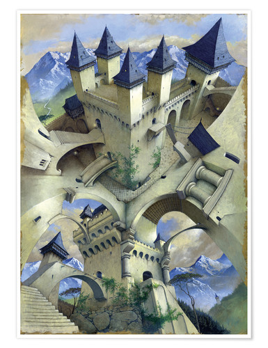 Poster Castle of illusion