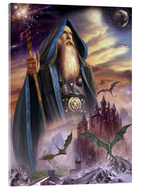 Acrylic print  The high Mage - Dragon Chronicles