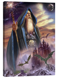 Canvas print  The high Mage - Dragon Chronicles