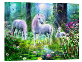Jan Patrik Krasny - Forest unicorn family