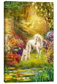 Canvas print  Unicorns in the garden - Jan Patrik Krasny