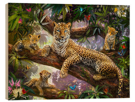 Jan Patrik Krasny - Tree Top Leopard Family