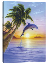 Canvas  Morning dolphin - Robin Koni