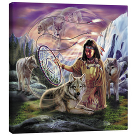 Canvas  Dream catcher - Robin Koni