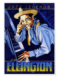 Premium poster  Duke Ellington - Roger Pearce
