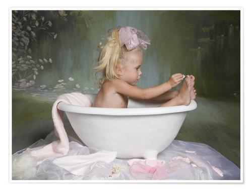 Premium poster Baby beauty therapy