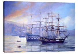 Canvas  Frigate and 1st Rate c.1815 - Rob Johnson