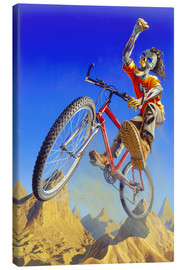 Canvas print  Mountain bike - Extreme Zombies