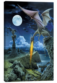Canvas print  Dragon spit - Dragon Chronicles