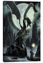 Canvas print  Dragons rock - Dragon Chronicles