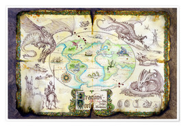 Premium poster  Dragons of the world - Dragon Chronicles