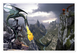 Premium poster Dragon valley