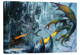 Canvas  The cave - Dragon Chronicles