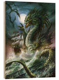 Wood  The sea serpent - Dragon Chronicles