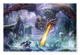 Premium poster  Dragon attack - Dragon Chronicles