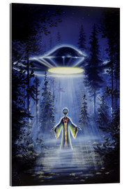 Acrylic print  Visitors - The arrival - Area 51