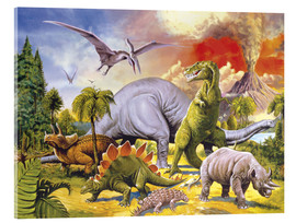 Acrylic print  Land of the dinosaurs - Paul Simmons