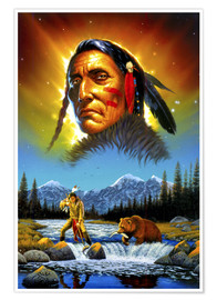 Premium poster Chief great bear