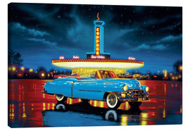 Canvas  Cadillac Diner - Chris Hiett