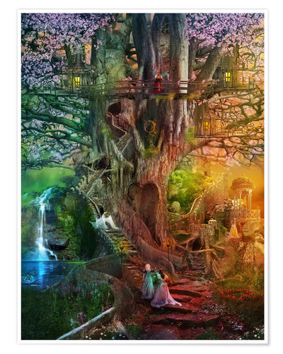 Premium poster The dreaming tree