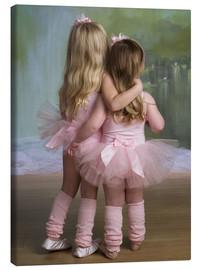 Canvas  Tiny Dancer Girls - Eva Freyss