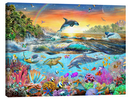 Canvas print  Tropical Paradise - Adrian Chesterman