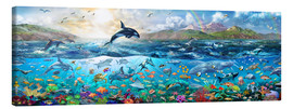 Canvas  Ocean Panorama - Adrian Chesterman
