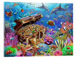 Acrylic print  Undersea Treasure - Adrian Chesterman