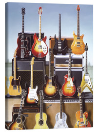 Canvas print  Guitars - Adrian Chesterman