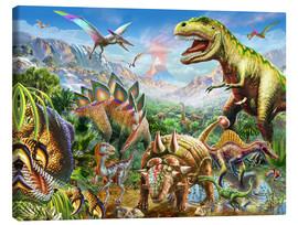 Canvas print  Dino Group - Adrian Chesterman