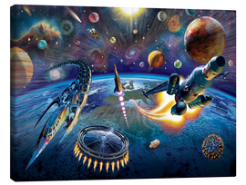 Canvas  Outer Space - Adrian Chesterman